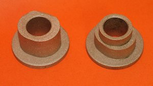 Original hex Shaft Bearings 218538 & 209295
