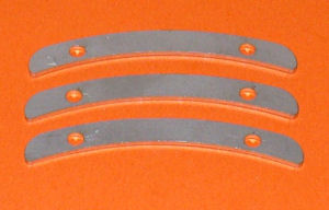 Chute Spacers