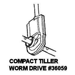 Compact Tiller Worm Drive 36059