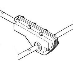 Steel stamping gearcase