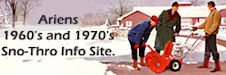 The Ariens 1960's and 1970's 